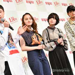 笠松将、アヤカ・ウィルソン、平手友梨奈、板垣瑞生 (C)モデルプレス