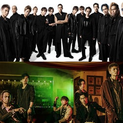 EXILE&EXILE THE SECOND、元旦に新曲セットのスプリットシングル発表