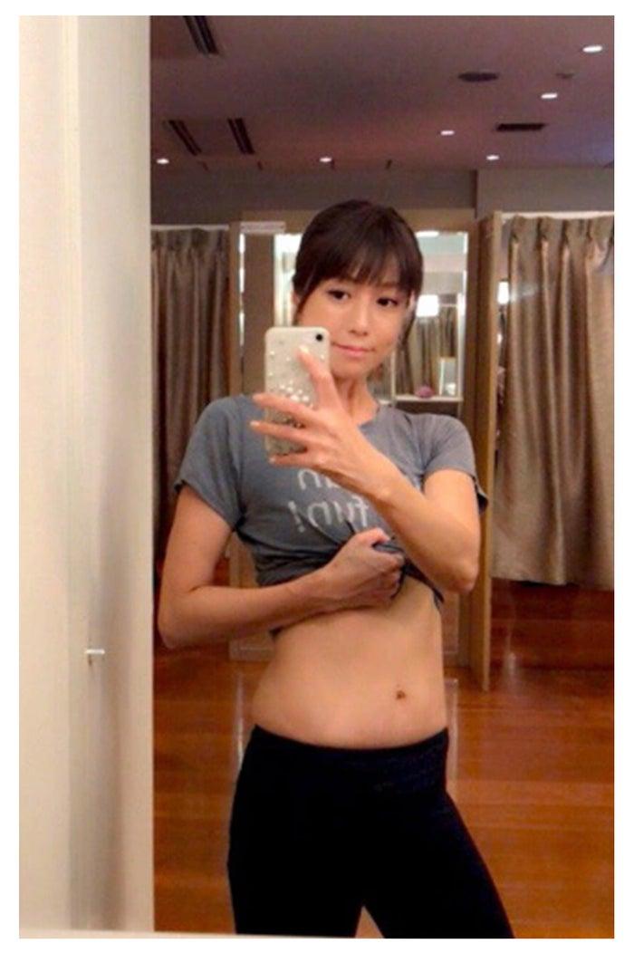 ダイエット後の写真/hitomiオフィシャルブログより