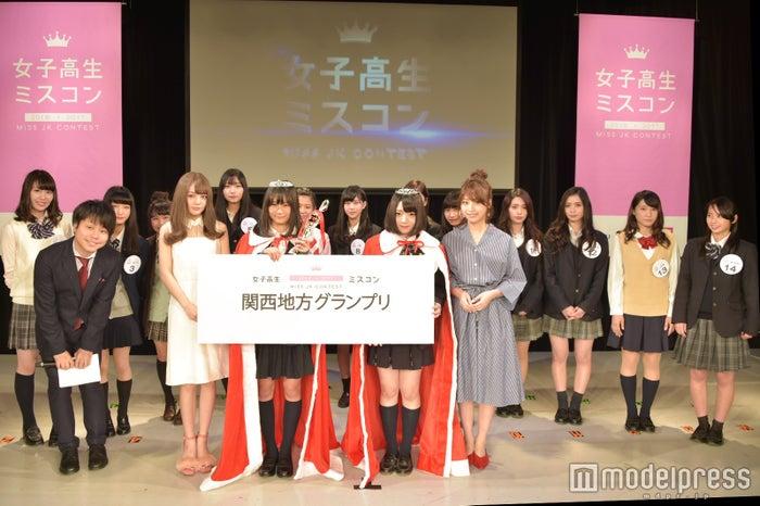 「女子高生ミスコン2016-2017」関西地方予選(C)モデルプレス