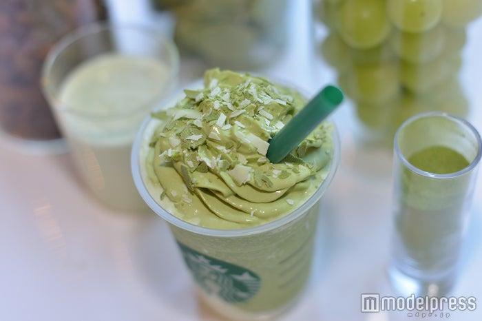 初の抹茶ホイップクリーム (C)モデルプレス
