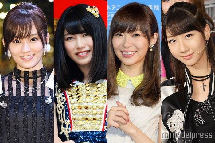レコ大放送後にコメントした(左から)山本彩、横山由依、指原莉乃、柏木由紀 (C)モデルプレス