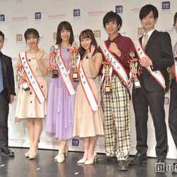 入江慎也、福地礼奈さん、兼田日向子さん、黒口那津さん、水澤崚さん、塙旺雅さん、吉家怜央さん(C)モデルプレス