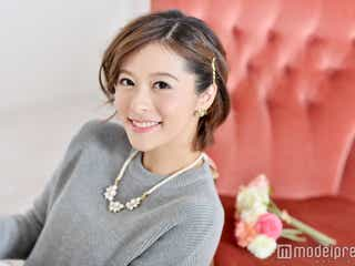"""第1子妊娠の神戸蘭子、夫との馴れ初め話を告白―""""運命的出会い""""と彼の好きなところ モデルプレスインタビュー"""