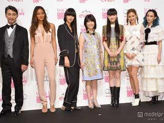 FNO開幕、秋元梢、シシド・カフカ、エリーローズら美の競演 スペシャルゲスト登場でファッションフェス彩る