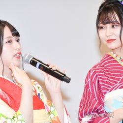 佐々木舞香、大場花菜 (C)モデルプレス