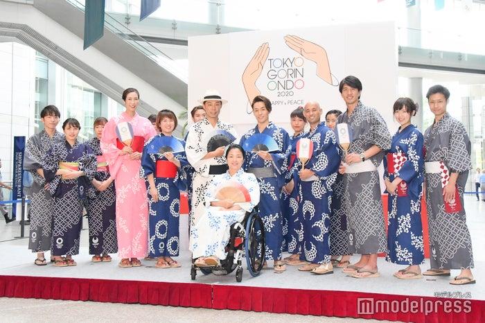 USA、TETSUYAが参加した「TOKYO 2020と祭でつながろう」発表会の様子 (C)モデルプレス