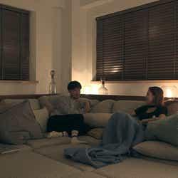 健司、莉咲子「TERRACE HOUSE TOKYO 2019-2020」5th WEEK(C)フジテレビ/イースト・エンタテインメント
