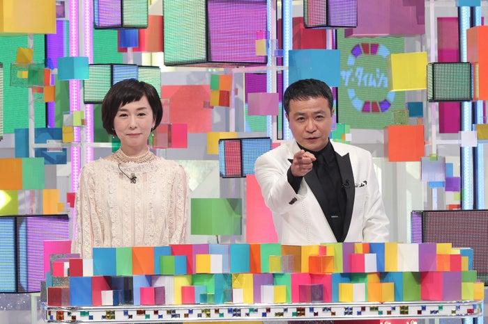 大下容子、中山秀征 (画像提供:テレビ朝日)