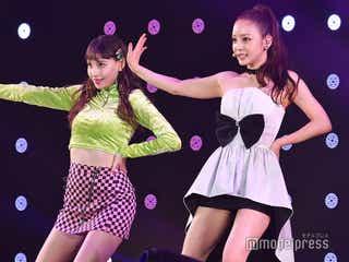 "HARA(ク・ハラ)、KARAメドレー披露 美脚全開で""ヒップダンス""「恥ずかしいですね」<TGM 2019>"