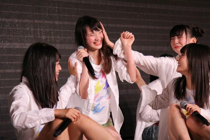 太野彩香/NGT48劇場の様子(C)AKS