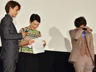 佐藤浩市、妻からのサプライズレターに男泣き