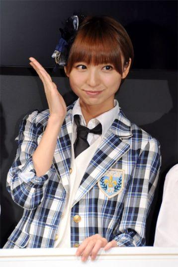 篠田麻里子(「AKB48 CAFE&SHOP AKIHABARA」プレス発表会より)