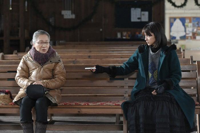 もたいまさこ、満島ひかり「カルテット」第5話より(C)TBS