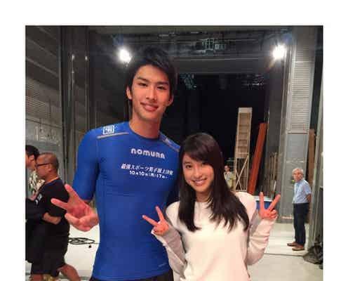 土屋太鳳「最強スポーツ男子」2位のイケメン俳優・野村祐希と2ショット公開 意外な関係に驚きの声