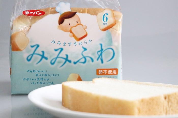「みみふわ」パッケージ。「卵不使用」を分かりやすく表示しているので卵アレルギーの方でも安心