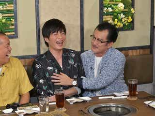 トシ、田中圭、吉田鋼太郎(C)テレビ朝日