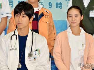 松田翔太&武井咲共演の月9「海の上の診療所」第1話放送
