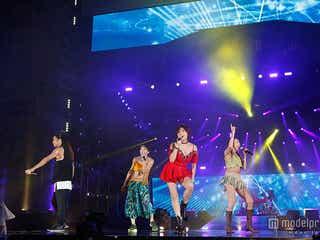 TRF、裸足で雨の「a-nation」盛り上げる 5万人と「EZ DO DANCE」<セットリスト>