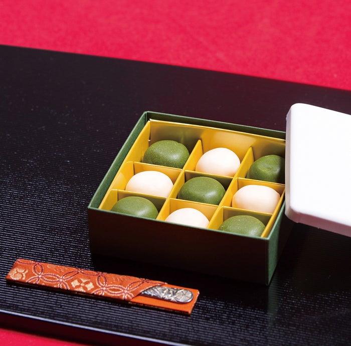 出張時に買いたいおみやげ賞:きぬのまゆ玉 贅沢抹茶1,198円(税込)