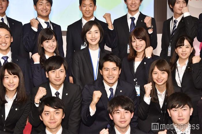 テレビ朝日入社式の様子 (C)モデルプレス