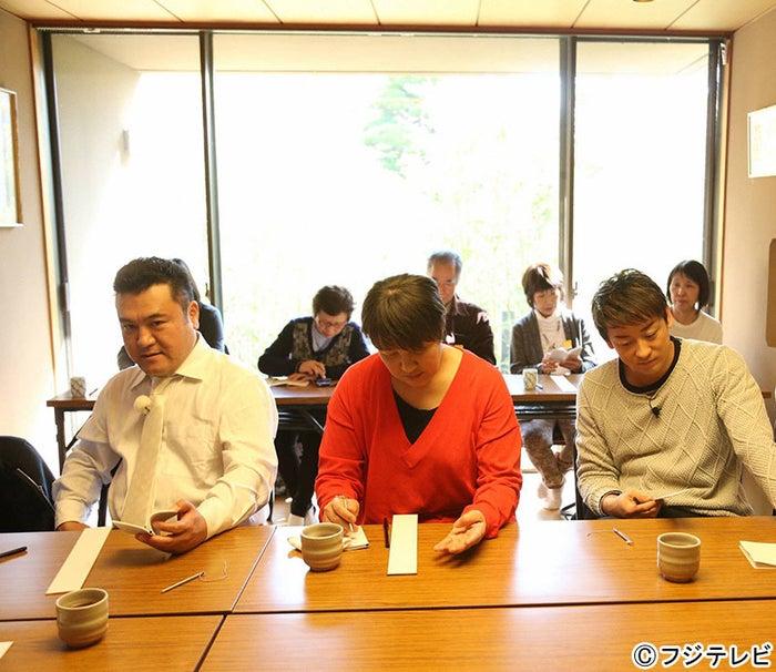 (左から)山崎弘也、北斗晶、山本耕史「おじゃMAP!!」より(C)フジテレビ