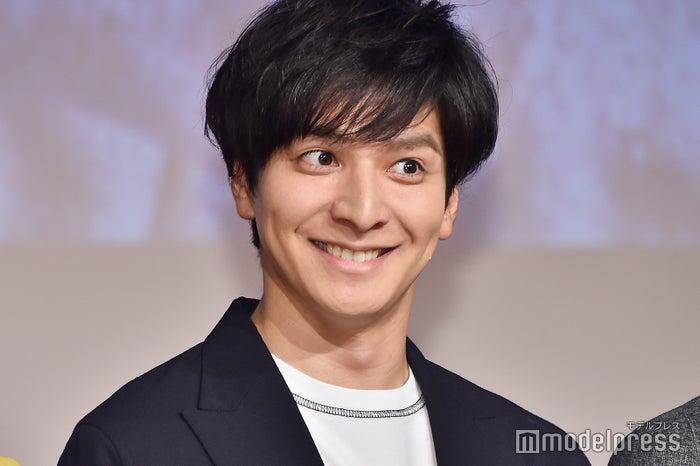 「強めの笑顔」を求められてこの表情/生田斗真 (C)モデルプレス