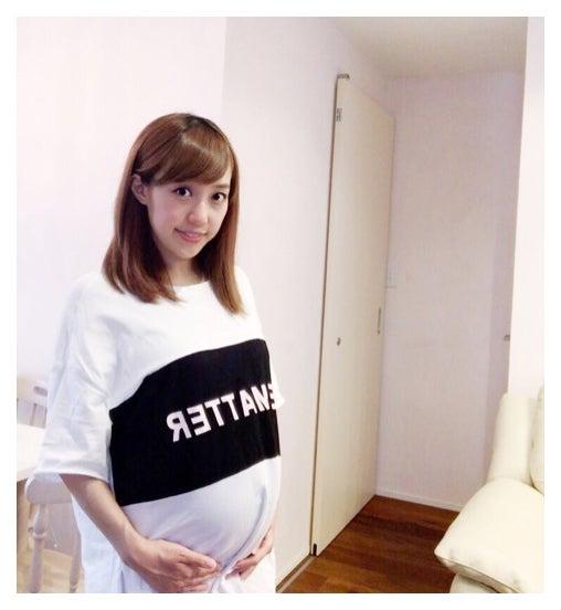 アレク、妊娠9か月の妻・川崎希のお腹にラクガキ まさかの指摘受ける ...