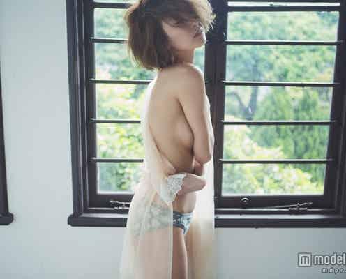 モデル武田静加、大胆SEXYグラビアで新境地 ナチュラルな美貌を披露