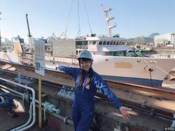 STU48の船上劇場、完成時期発表 メンバーが一足先に見学