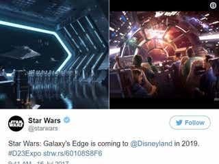 米ディズニー「スター・ウォーズ」テーマパーク、名称決定 目玉アトラクションは?