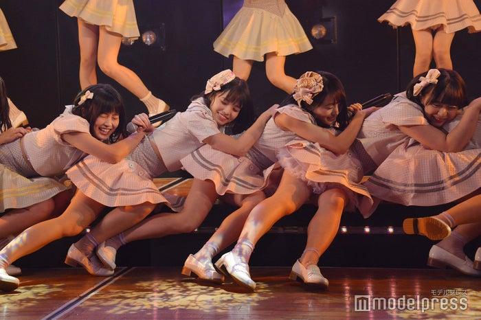 岡部麟、高橋彩音、坂口渚沙、倉野尾成美/AKB48チーム8「その雫は、未来へと繋がる虹になる。」公演 (C)モデルプレス