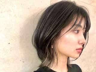 黒髪に似合うミディアムヘア14選!人気の髪型を前髪別に紹介