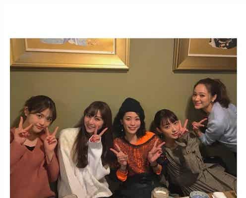 石川恋、乃木坂46松村沙友理ら「CanCam」美女モデル集結 豪華新年会に反響