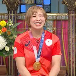 川井友香子選手(C)日本テレビ