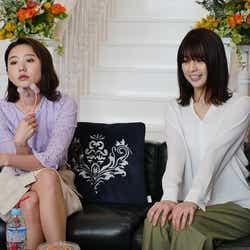 (左から)おのののか、柳ゆり菜(C)フジテレビ