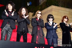 X JAPAN(左から)HEATH、PATA、YOSHIKI、Toshl、SUGIZO(C)モデルプレス