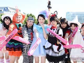 私立恵比寿中学、個性豊かなハロウィーン仮装 ファンに笑顔振りまく