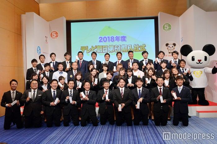 テレビ朝日2018年度入社式(C)モデルプレス
