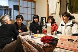 イッセー尾形、松田龍平、松たか子、満島ひかり、高橋一生「カルテット」第1話より(C)TBS