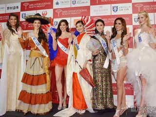 世界の美女74人が集結、「2014ミス・インターナショナル」代表が美の競演