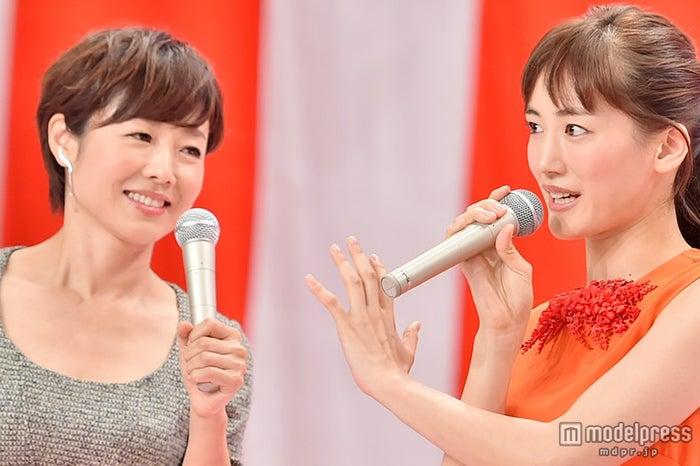 有働由美子アナウンサー、綾瀬はるか