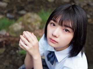 欅坂46藤吉夏鈴、透明美肌にうっとり 独特な存在感放つ