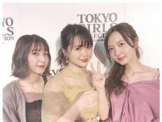HKT48森保まどか&松岡菜摘、菅本裕子と「エモい3ショット」ファンから歓喜の声
