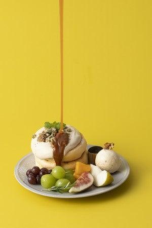 奇跡のパンケーキ オータムフルーツ&キャラメルミルクティー/画像提供:フレーバーワークス