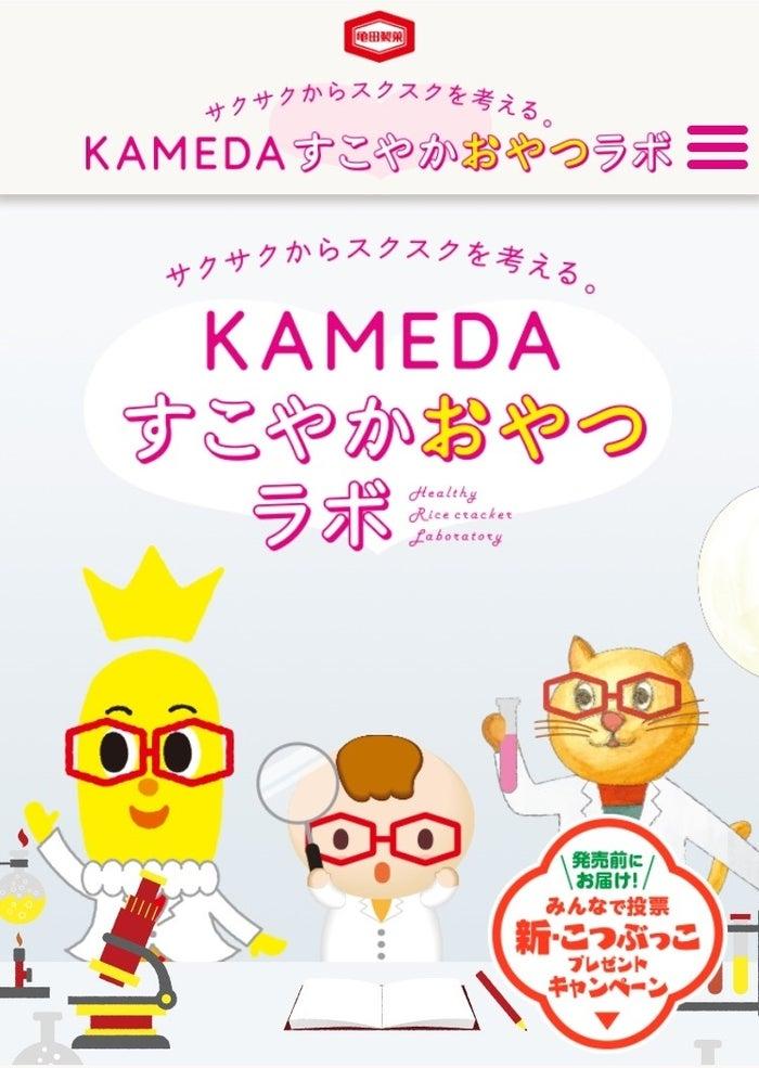 「KAMEDA すこやかおやつラボ」