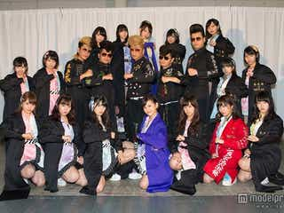 HKT48、氣志團との異例コラボ発表 「マジすか学園」番外編の製作も決定