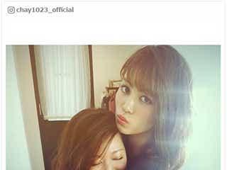 chay、E-girls楓と密着ハグ「お姉ちゃんみたい」