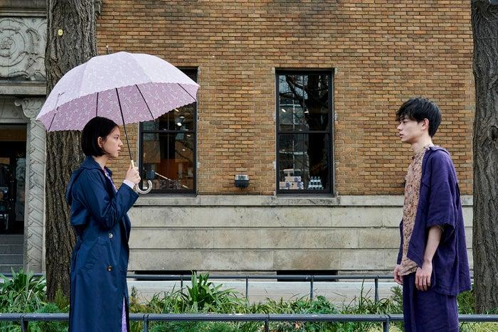 中島セナ、菅田将暉/短編映画「まだここにいる」より(提供写真)