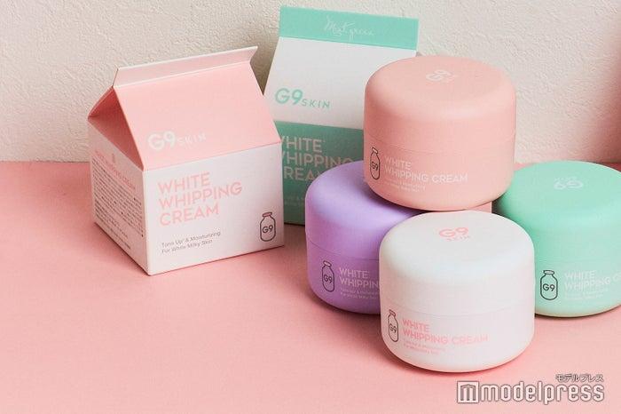 「ホワイトホイッピングクリーム」「ピンク」「ラベンダー」に加えて「ミントグリーン」が登場(C)モデルプレス